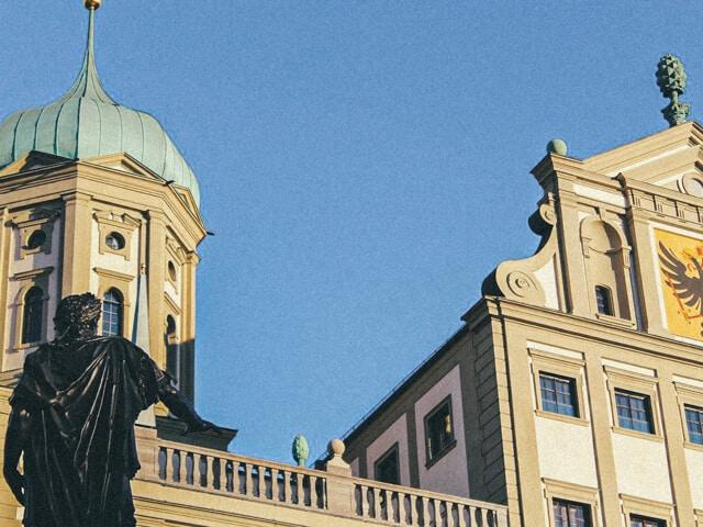 Rathaus und Augustus